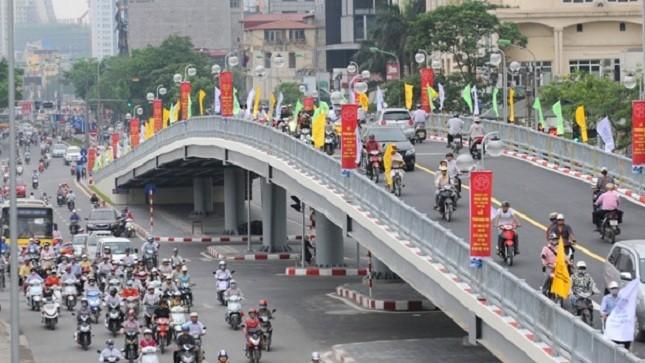 Sắp xây cầu vượt thứ 8 ở Hà Nội