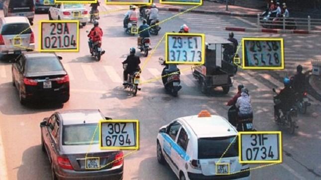 """Hà Nội sẽ lắp camera phạt """"nguội"""" xe đi sai làn đường"""