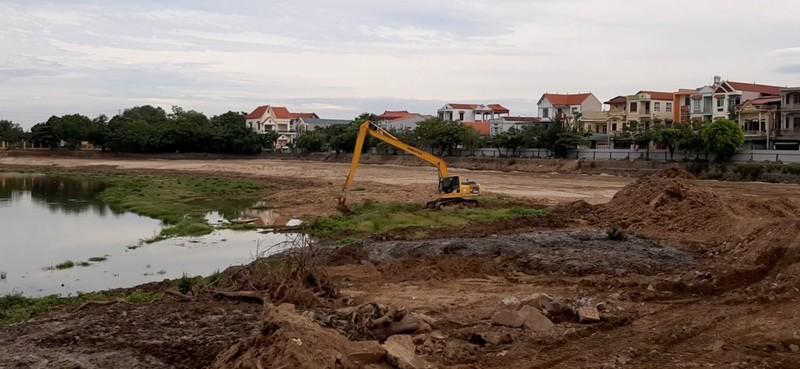 Vĩnh Phúc: Có khuất tất tại gói thầu cải tạo hồ Vực Xanh, thị trấn Vĩnh Tường?