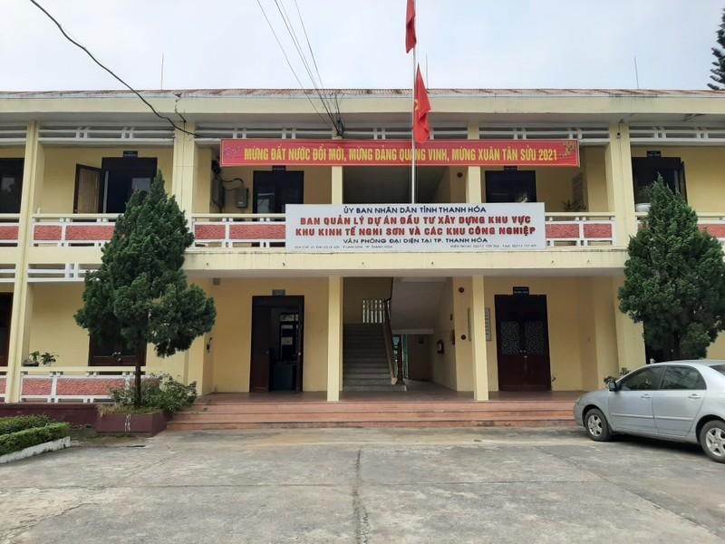 """Trắng trợn """"vây thầu"""" tại Ban quản lý dự án đầu tư xây dựng khu vực khu kinh tế Nghi Sơn và các khu công nghiệp Thanh Hóa"""