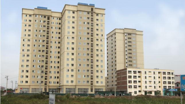 Dự án thí điểm xây dựng  nhà ở cho công nhân thuê tại xã Kim Chung, Đông Anh, Hà Nội.