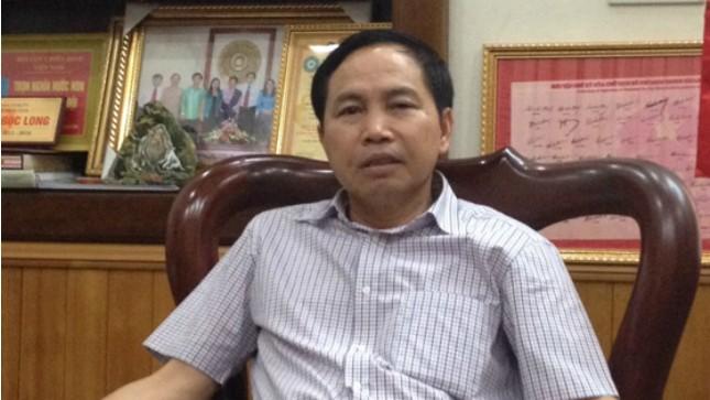 Ông Dương Ngọc Long, Chủ tịch UBND Tỉnh Thái Nguyên.