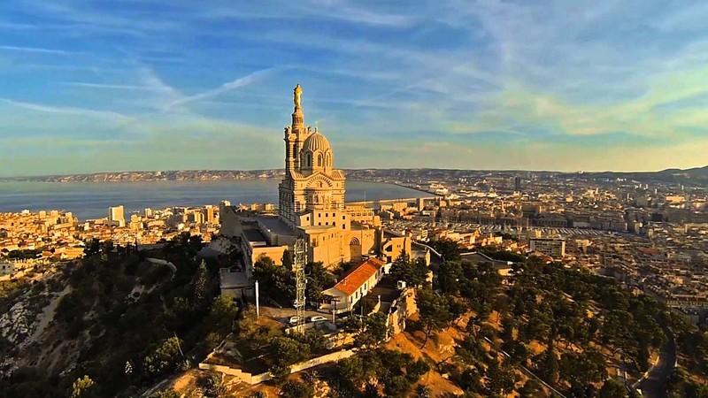 Nhà thờ Notre Dame de la Garde - Kỳ quan tuyệt hảo của nước Pháp