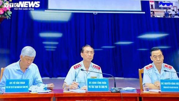 Thanh Tra Chính phủ cùng UBND TPHCM đối thoại với người dân Thủ Thiêm.