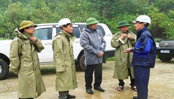 Phó Tổng cục trưởng Tổng Cục phòng chống thiên tai Vũ Xuân Thành đề nghị người dân không được chủ quan