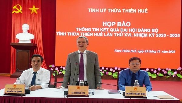 Bí thư Tỉnh ủy Thừa Thiên Huế lý giải vì sao một số Giám đốc Sở không được bầu vào BCH Đảng bộ tỉnh
