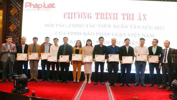 Báo Pháp luật Việt Nam khu vực Bình Trị Thiên tri ân đối tác, cộng tác viên