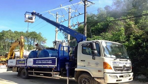 Kiểm tra, bảo dưỡng lưới điện.