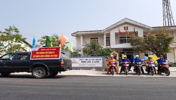 PC Thừa Thiên Huế: Đảm bảo cấp điện an toàn, liên tục trong mùa nắng nóng 2021