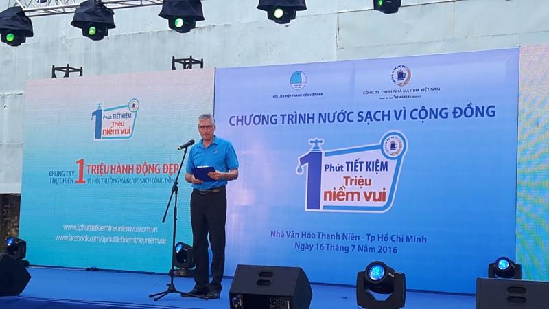 """Bia Việt Nam với chương trình """" Một phút tiết kiệm triệu niềm vui"""""""