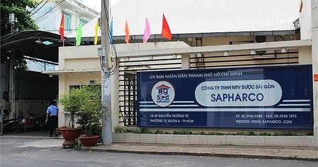 Công ty TNHH MTV Dược Sài Gòn để xảy ra hàng loạt vi phạm khiến nhiều cá nhân bị xử lý.