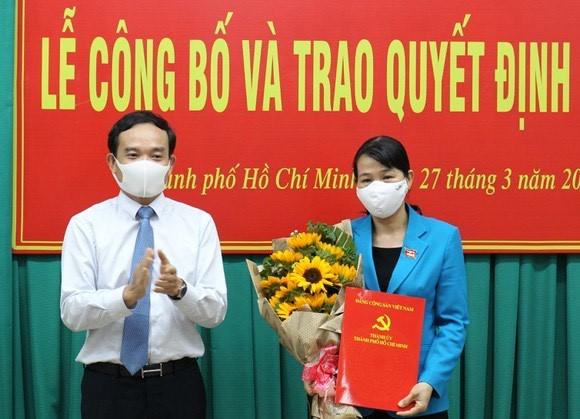 TP.HCM: Đồng chí Lê Thị Kim Hồng làm Bí thư Quận ủy Quận Tân Phú