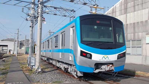 Tàu Metro số 1 được vận hành thử tại Nhật Bản.
