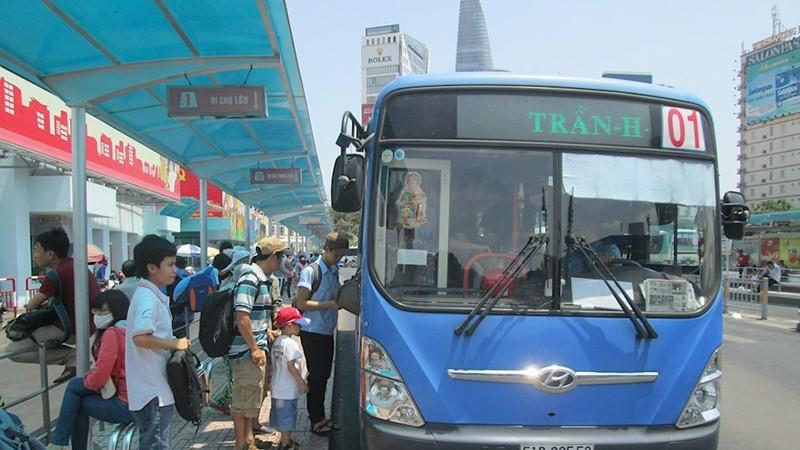 Từ ngày 4/5, xe buýt TP HCM hoạt động trở lại