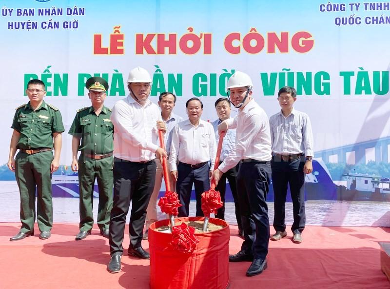 Phà Cần Giờ - Vũng Tàu chính thức khởi công