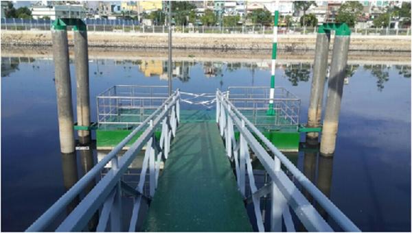 Bến Lò Gốm ở Quận 6 giúp cho việc khai thác du lịch vận tải bằng đường thủy của TP HCM ngày càng phát triển.