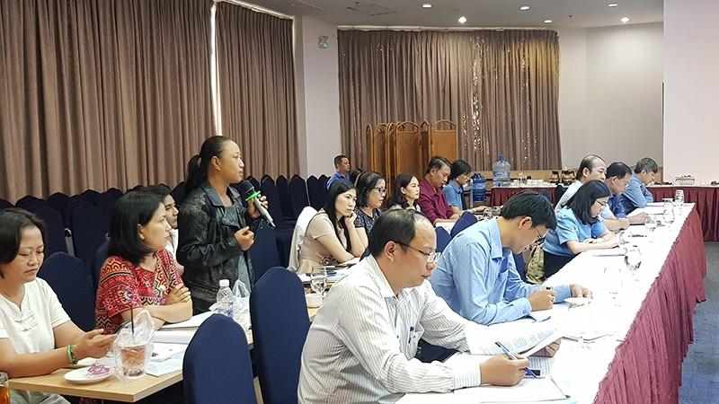 Đại diện thanh niên tỉnh Bến Tre chia sẻ về vấn đề sau cai và tái nghiện.