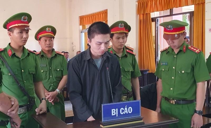 Bị cáo Nguyễn Minh Động lĩnh án tù chung thân về tội giết người