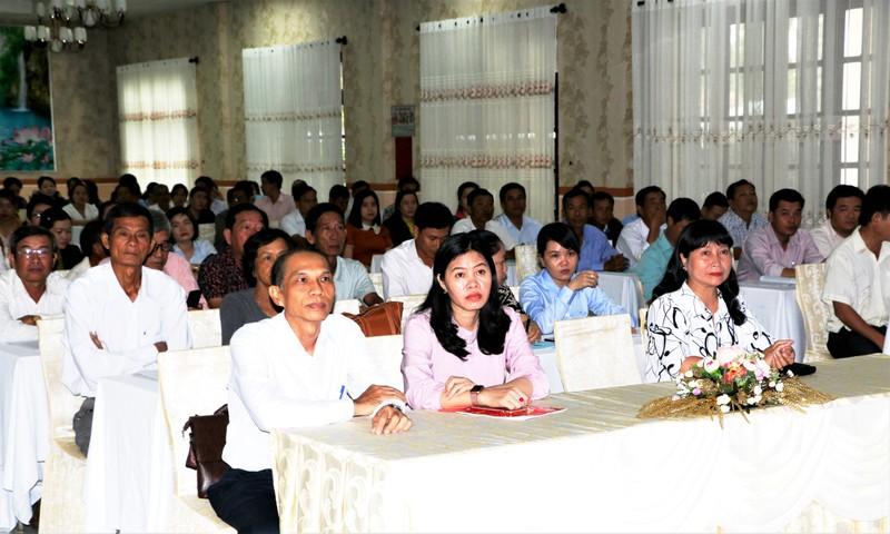 Tuyên truyền về xây dựng cấp xã đạt chuẩn tiếp cận pháp luật tại Bạc Liêu