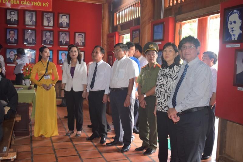 Lãnh đạo Bạc Liêu thăm Khu Di tích nơi thành lập Chi bộ Đảng