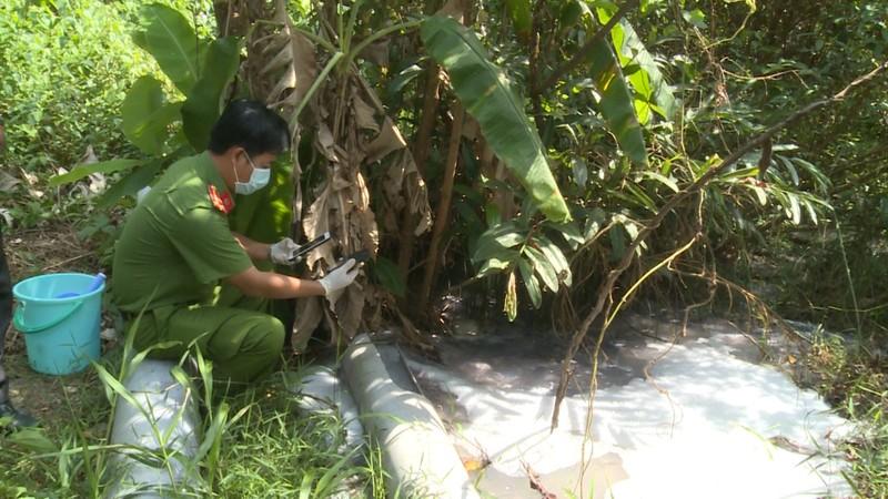Phú Quốc bắt quả tang cơ sở giặt ủi xả thải không qua xử lý ra môi trường