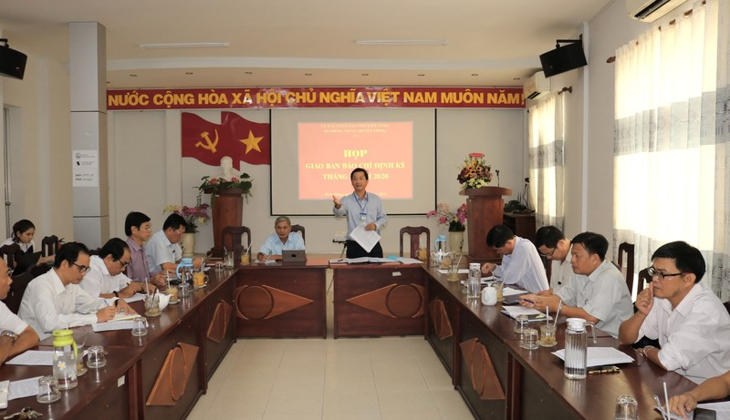 Sẽ sớm hoàn thành các công trình cấp nước sinh hoạt ở Kiên Giang