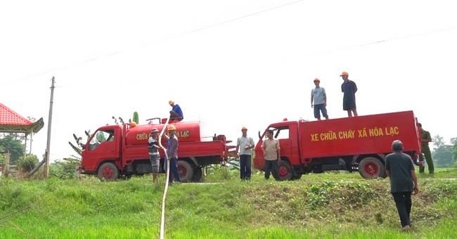 Độc đáo 'siêu xe chữa cháy' của 'đội cứu hỏa Hai Lúa'