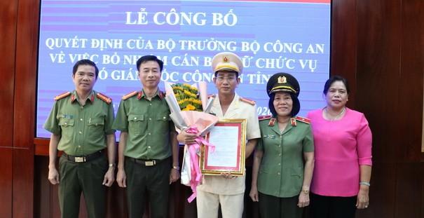 Bổ nhiệm Phó giám đốc Công an tỉnh Kiên Giang
