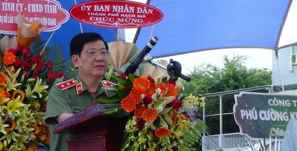 Đầu tư 351 tỷ đồng xây dựng trụ sở làm việc Công an tỉnh Kiên Giang