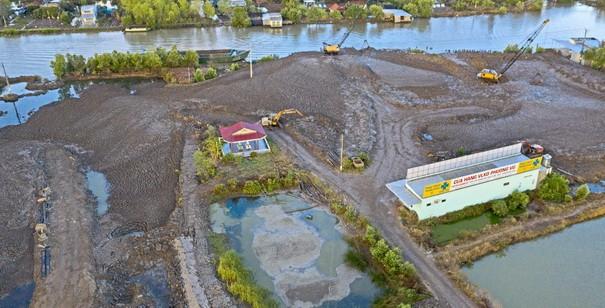 Cà Mau phát hiện nhiều bãi chứa, điểm tập kết đất để kinh doanh trái phép