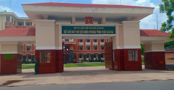 Kỷ luật loạt lãnh đạo Bộ đội Biên phòng tỉnh Kiên Giang