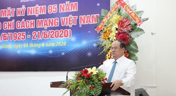 Chủ tịch tỉnh mong báo chí đồng hành thực hiện khát vọng của người dân An Giang