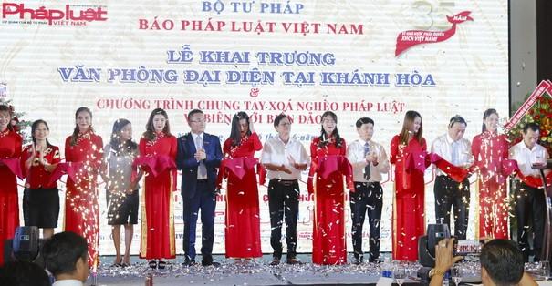 Dấu ấn Báo Pháp luật Việt Nam tại Khánh Hòa