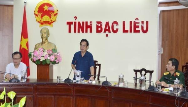 Chủ tịch tỉnh Bạc Liêu: 'Phải lường trước các tình huống khi tổ chức cách ly tập trung phòng bệnh Covid-19'