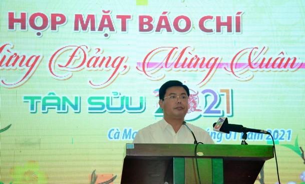 Báo chí đóng góp to lớn vào những thành tựu của tỉnh Cà Mau