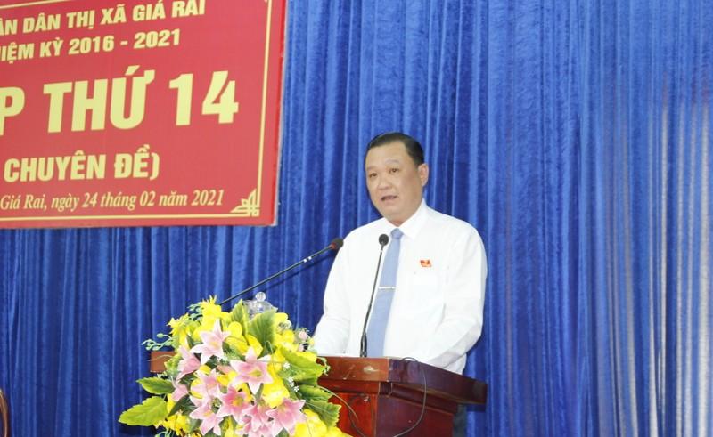 Ông Ngô Quốc Tuấn giữ chức Phó Chủ tịch UBND thị xã Gía Rai