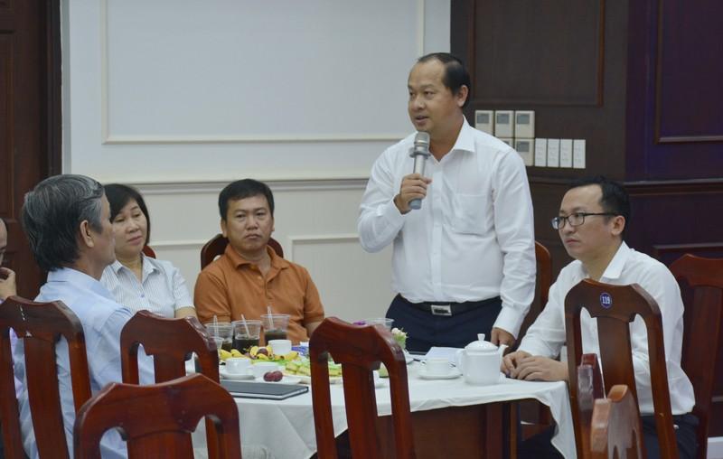 Chủ tịch UBND tỉnh Cà Mau Lê Quân gặp mặt gần 350 công chức, viên chức trẻ