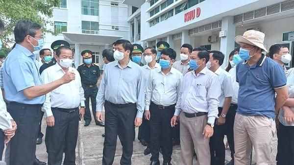 Kiên Giang kiến nghị Bộ Y tế hỗ trợ lực lượng xử lý tình huống dịch lây lan cộng đồng