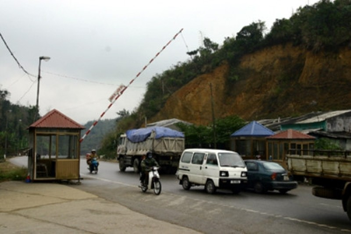 Trạm kiểm soát liên hợp Dốc Quýt, nơi xảy ra vụ việc
