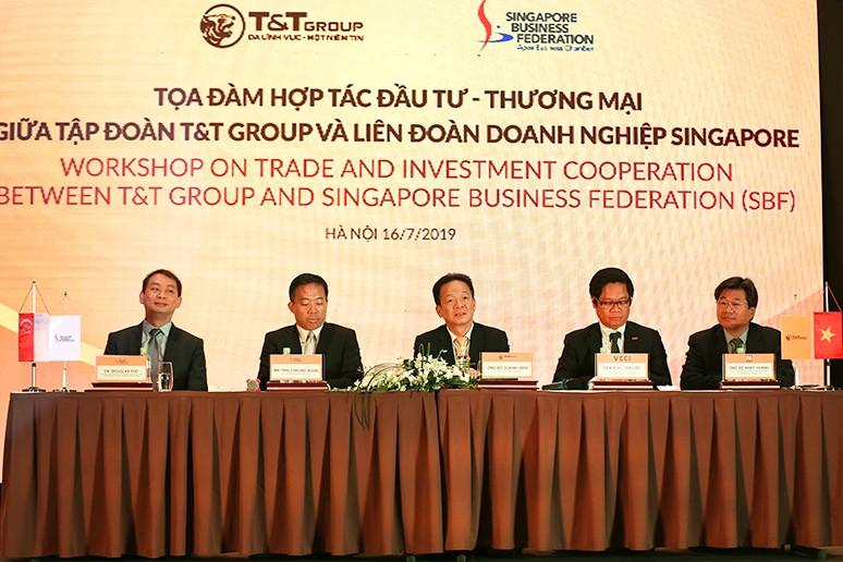 Buổi tọa đàm giúp nhiều doanh nghiệp Singapore hiểu hơn về môi trường đầu tư thuận lợi tại Việt Nam