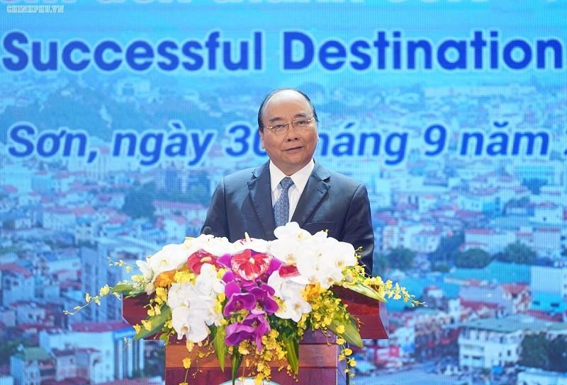 Thủ tướng đánh giá Lạng Sơn có địa kinh tế thuận lợi để các nhà đầu tư đến làm ăn