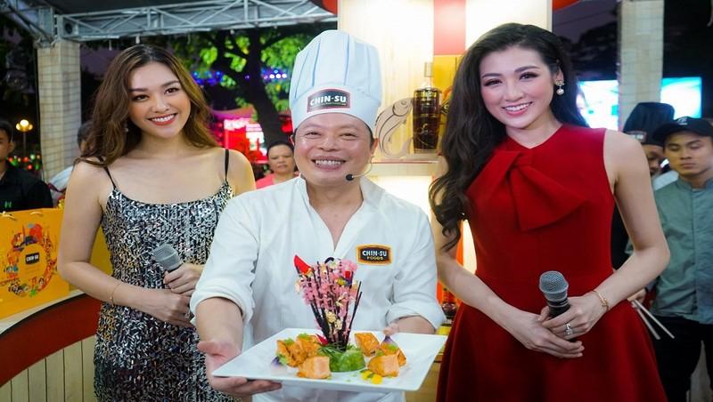 Lễ Hội ẩm thực thu hút nhiều người nổi tiếng