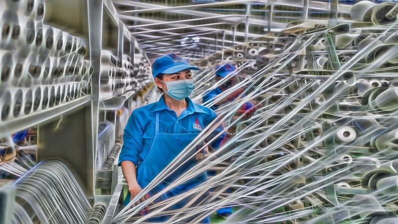 Sợi DTY do VNPOLY sản xuất  được đánh giá cao về chất lượng