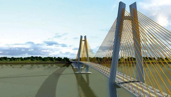 Cầu Mỹ Thuận 2 sẽ nối hai tuyến cao tốc Trung Lương - Mỹ Thuận và Mỹ Thuận - Cần Thơ để hoàn thiện tuyến cao tốc TP Hồ Chí Minh - Cần Thơ