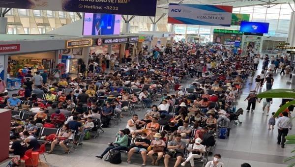 Khoảng 80.000 hành khách hàng không nội địa đang có nhu cầu rời khỏi Đà Nẵng (ảnh minh họa)