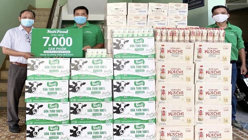 NutiFood tặng 7.000 sản phẩm sữa và thức uống dinh dưỡng cho 3 bệnh viện Đà Nẵng