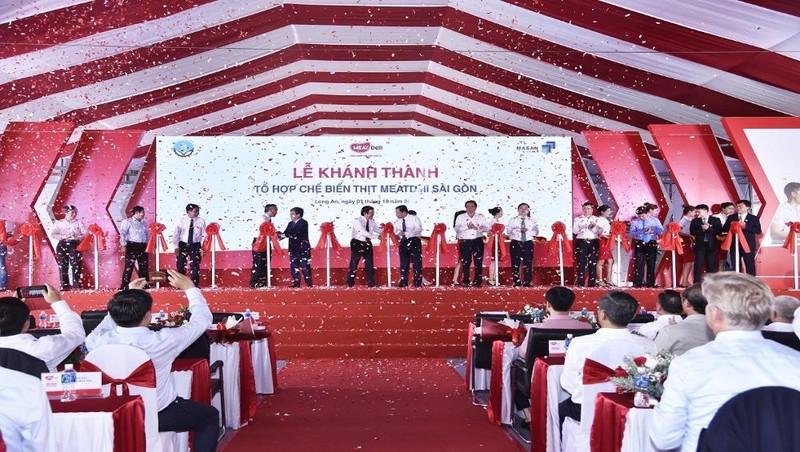 Cắt băng khánh thành Tổ hợp Chế biến MEATDei Sài Gòn