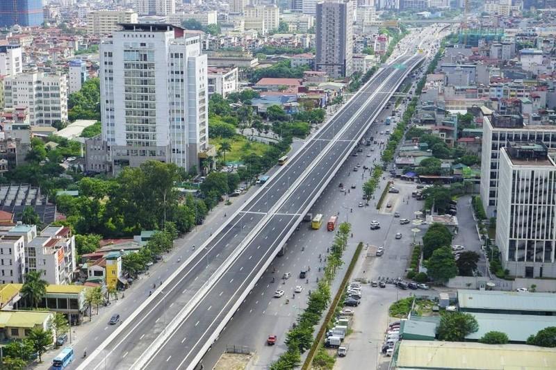 Cầu cạn Mai Dịch – Nam Thăng Long (Hà Nội) vừa được CIENCO4 cùng đối tác Nhật Bản hoàn thành, được đánh giá tốt về chất lượng, tính thẩm mỹ cao