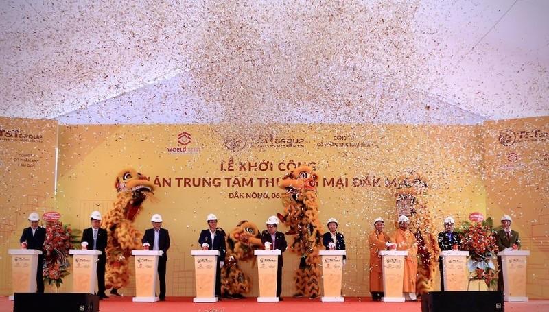 T&T Group khởi công dự án trung tâm thương mại 7.500 m2 tại Đắk Nông