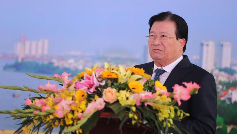 Phó Thủ tướng Trịnh Đình Dũng dự lễ Thông xe cầu Thăng Long